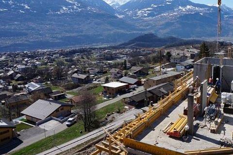 Les Terrasses du Valais - Projet en cours.