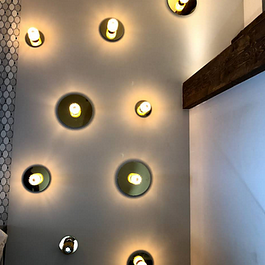 Mur d'appliques design