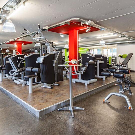 Fitnessstudio mit eGYM Zirkel