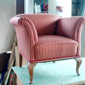 Stühle neu überziehen