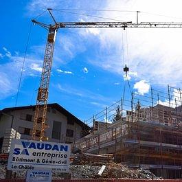 Vaudan SA - Construction