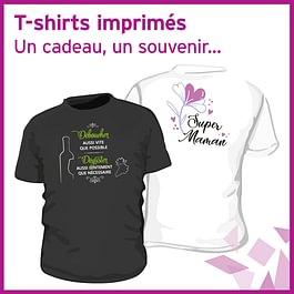 T-shirts imprimés / Des idées pour tous !