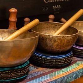 Massages avec bols tibétains