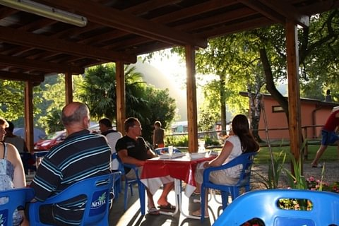 Restaurant Camping Paradiso