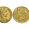 Impero Romano - Costanzo II (337-361 d.C.), Solido d'oro, Antiochia, ORO (21 mm - 3.45 gr.)