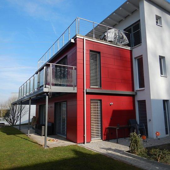 Fassadenarbeiten, Sonnhalde Hünenberg