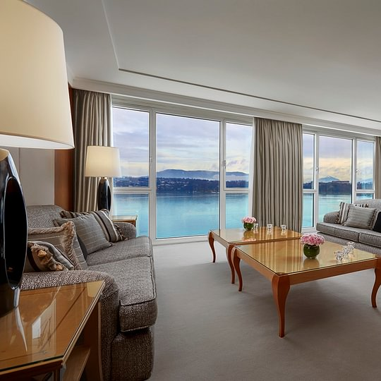 Presidential Suite - Hotel President Wilson, a Luxury Collection Hotel, Geneva