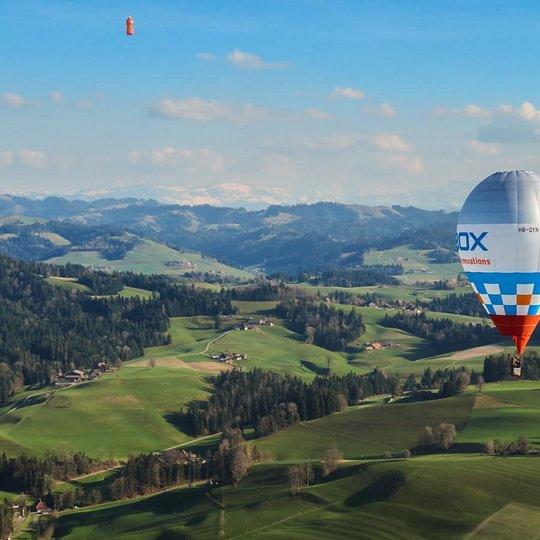 Alpenfahrt, Air Ballonteam Stefan Zeberli GmbH, Heldswil