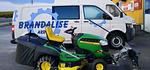 Tracteur-tondeuse John Deere X155R (96h de travail)