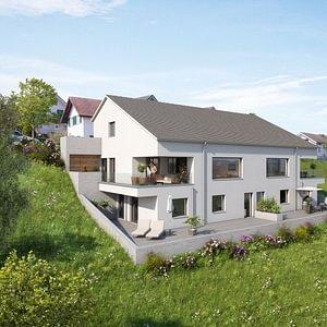Neubau Doppel 6½ Einfamilienhaus Hofstattächer, 5642 Mühlau