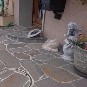 Mosaik Hauseingang
