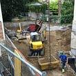 Umbau & Anbau mit neuer Autoeinstellhalle