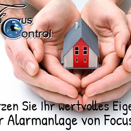 Schützen Sie Ihr Eigentum mit einer Alarmanlage von FocusControl