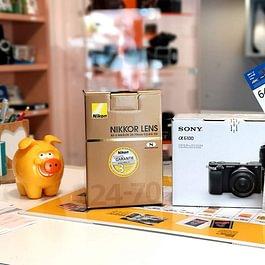 Vente de Matériel Photo (Canon, Nikon, Sony, Fuji...)