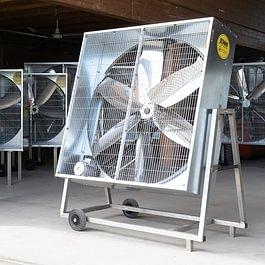 Mobiler Ventilator 140 Serie Premium, Schwenkbar