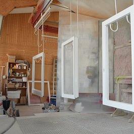 Unsere FenLife-Fenster werden von A bis Z bei uns im Haus hergestellt.