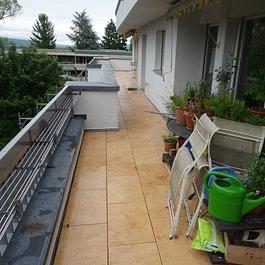 Terrassen Sanierung Bruderholzrain Basel.