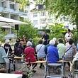 """""""Matterlive"""" mit Ueli Schmezer am Sommerfest 2017."""