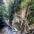 Gorges du Durnand, Val de Bagnes, Verbier walking activities and languages, learn French and walk, hiking and English