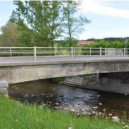 Reconstruction du Pont sur la Trême et aménagements routiers - année 2011 - en cours