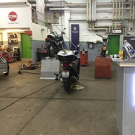 Atelier 2 roues- moto - scooter - garage de la croix sur lutry