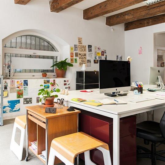 studio de graphisme karakter à Fribourg