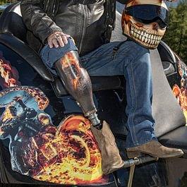 """Design Beinprothese """"Ghost Rider"""""""