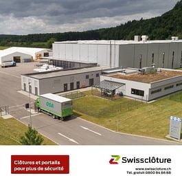 Swissclôture –clôtures et portails pour plus de sécurité.