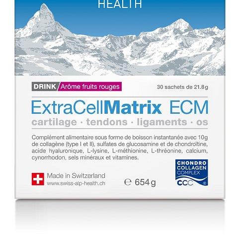 ExtraCellMatrix ECM fruits rouges pour cartilage, tendons, ligaments et os