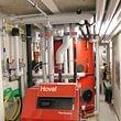 Impianto a pompa di calore acqua/acqua