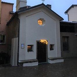 Decorazione chiesa Pugerna