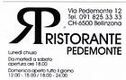 Ristorante Pedemonte