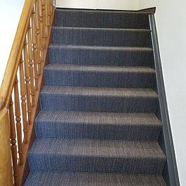 Teppich auf Treppe
