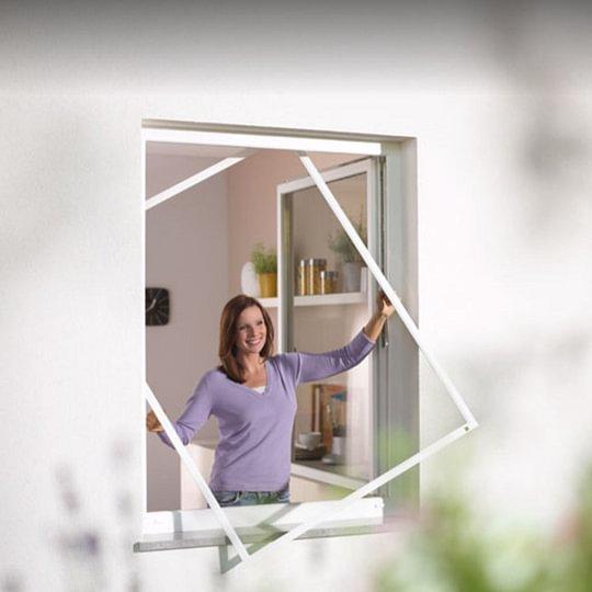 Spannrahmen Fenster Insektenschutz