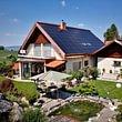 Einfamilienhaus mit Indach-Solaranlage