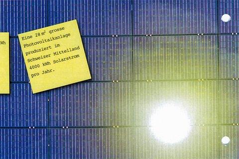 Photovoltaikanlagen erzeugen hochwertige Energie von der Sonne