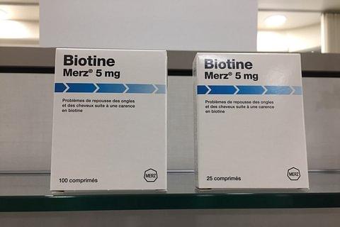 Biotin Merz 5 mg, 100 cpr.