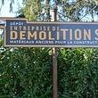 Entreprise de Démolition SA (Achat matériaux avant démolition)