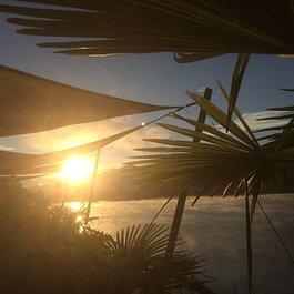 Tresa Bay Hotel - Sonnenaufgang