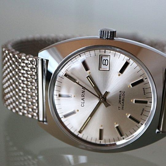 Original Vintage Uhren Swiss Made aus den 70er Jahren