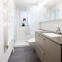 Sanierung 96 Badezimmer inkl. Leitungsersatz in Basel