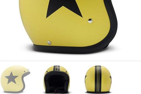 DMD Helmet star yellow