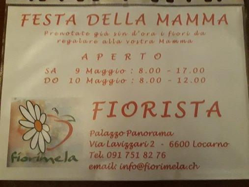 FESTA DELLA MAMMA - PRENOTATE IN ANTICIPO I FIORI