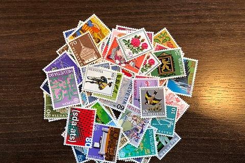 Briefmarken gemischt,  100 CHF Frankaturwert
