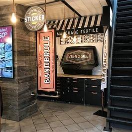 Le Showroom de Publicity Shop à Semsales
