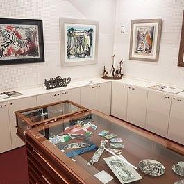 Grösste Ausstellung an Grafiken, Serigraphien, Lithografien