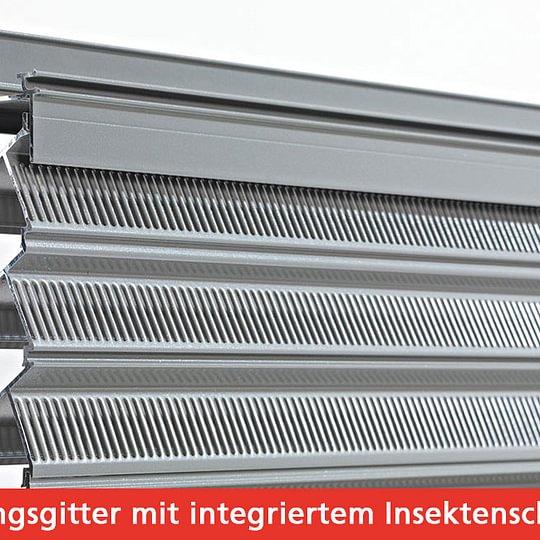 Lüftungsgitter (inkl. integriertem Insektenschutz)