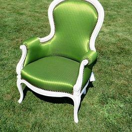 Stil Sessel in Shabby Chic mit Stoff von Kvadrat Mechanism