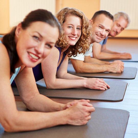 Pilates Gruppenunterricht und personal Training