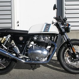 Royal Enfield Continental GT 650 - ice queen